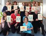Thank you photo from NW Hospice