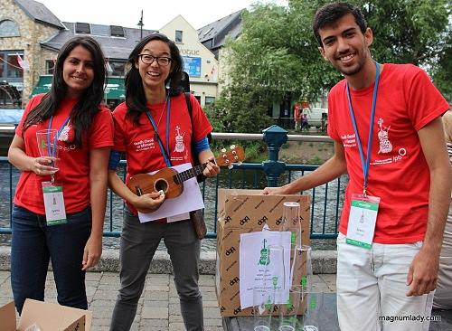 Volunteers in Action- Fleadh 2014